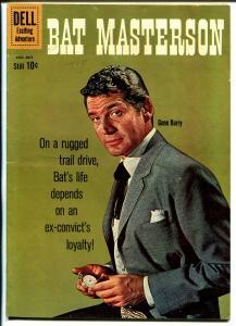 Bat Masterson #4 1960-Dell-Gene Barry TV photo-FN