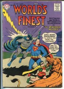 World's Finest #87 1957-DC-Superman-Batman-Green Arrow-Tomahawk-VG