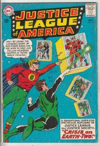 Justice League of America #22 (Sep-63) VG/FN Mid-Grade Justice League of Amer...