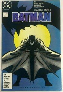 BATMAN#405 VF 1987 FRANK MILLER  DC COMICS