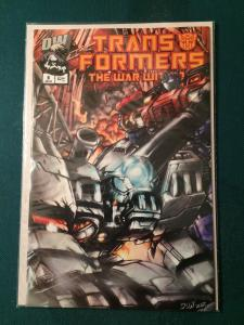 Transformers The War Within #6 Dreamwave Productions NM-M