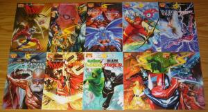 Project Superpowers #0 & 1-7 VF/NM complete series + variant + fcbd - alex ross