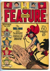 Feature Comics #104 1946- DOLL MAN- Golden Age F/G