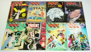 Trident #1-8 VF/NM complete series - neil gaiman/grant morrison/mark millar set