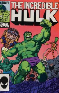 Incredible Hulk, The #314 VF/NM; Marvel | save on shipping - details inside