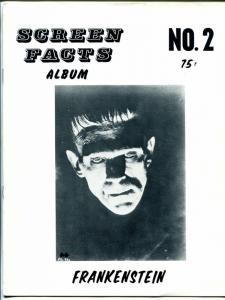 Screen Facts Album #2 1960's-1931 Frankenstein-Boris Karloff-full page photos-FN