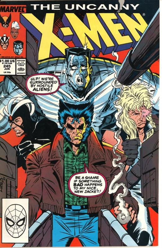The Uncanny X-Men #245 (Marvel)