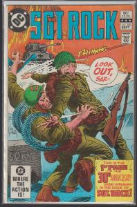 SGT. ROCK #368 DC WAR COMIC - 1982