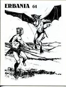 Erbania #64 1991 -Edgar Rice Burroughs-Tarzan-Burgard-Tom Yeates-info-pix- VG