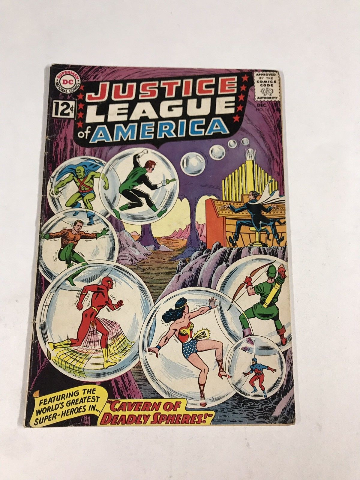 Justice League Of America 16 3 0 Gd/vg Good / Very Good Dc