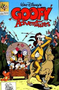 Goofy Adventures #3 VF; Disney | save on shipping - details inside