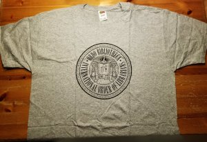 Rex Libris T-Shirt XL NOS w/ Tags  International Order of Librarians