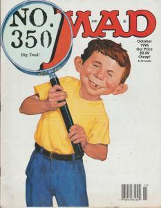 MAD MAGAZINE #350 - HUMOR COMIC MAGAZINE