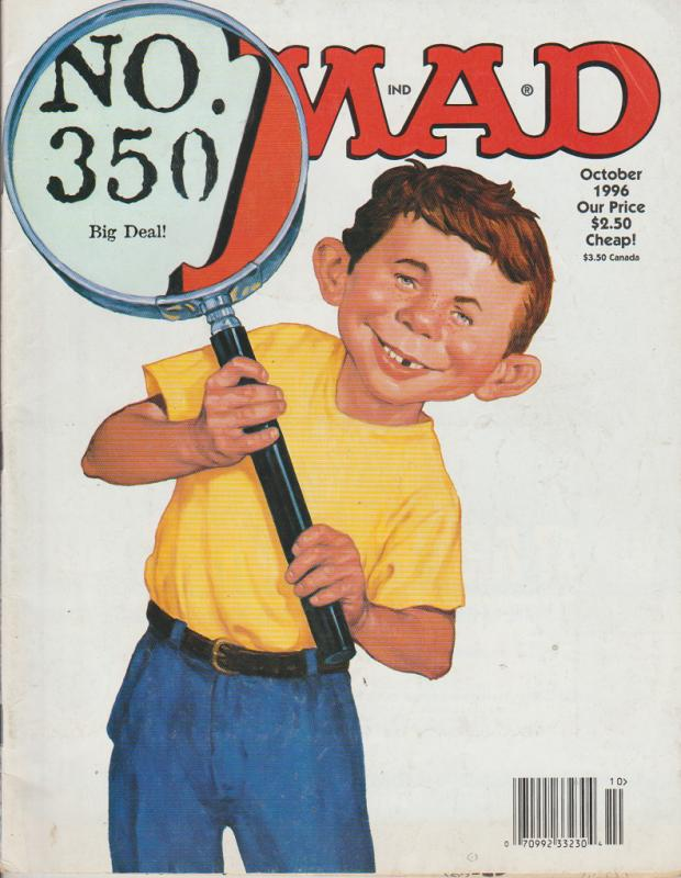 MAD MAGAZINE #350 - HUMOR COMIC MAGAZINE