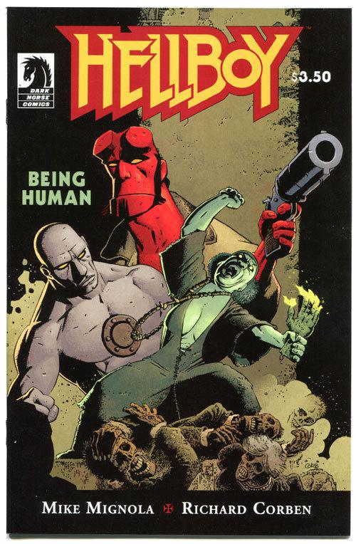 HELLBOY - BEING HUMAN #1, NM, Richard Corben, Mignola, 2011, more RC in store