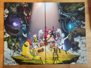 RICK & MORTY vs Dungeons & Dragons #1 (Oni 2019) NYCC Connecting Covers IDW