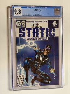 Static 1 Cgc 9.8 Wp Dc Comics Milestone Regular Edition