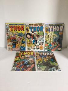 Thor 261 262 263 264 265 266 267 268 269 270 Fn-Vf Fine-Very Fine 6.0-8.0