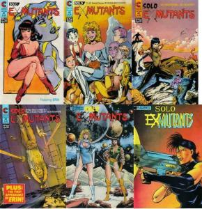 SOLO EX MUTANTS 1-6  RON LIM  The COMPLETE Series!