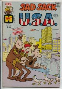 Sad Sack U.S.A. #2 1972-Chicao IL-George Baker-Military comic art-vf