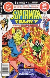 Superman Family #216 (ungraded) stock photo