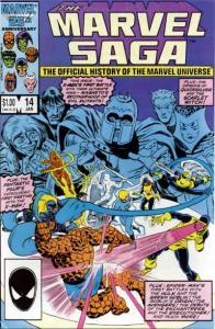 Marvel Saga #14, VF (Stock photo)