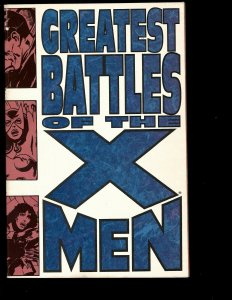 Greatest Battles of the X-Men Vol. # 1 Marvel Comic Book TPB Graphic Novel NP13