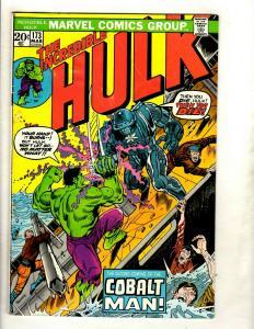 7 Incredible Hulk Marvel Comic Books # 173 174 175 177 178 179 184 Warlock GK3