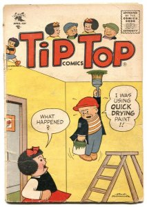 Tip Top Comics #197 1956-PEANUTS- Nancy- G