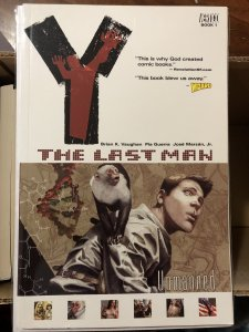 Y: The Last Man TPB Vol. 1: Unmanned (2003) VF