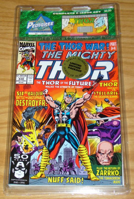 Treat Pedigree Collection: the Once & Future Thor VF/NM 438 439 440 441 442 443