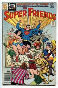 Super Friends #1 1976 DC comics  1st Wendy  Marvin &  Wonder Dog F/VF