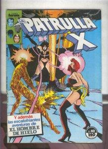 La Patrulla X volumen 1 numero 040: Las chicas son guerreras (numerado 2 en t...