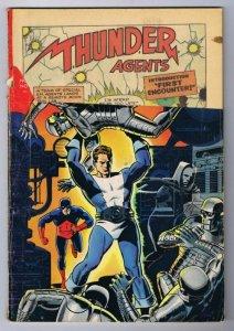 THUNDER Agents #1 ORIGINAL Vintage 1965 Tower Comics