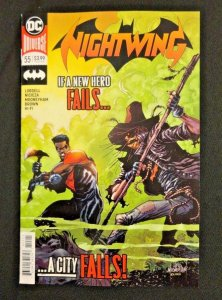 DC Universe Nightwing #55 Main Cover NM