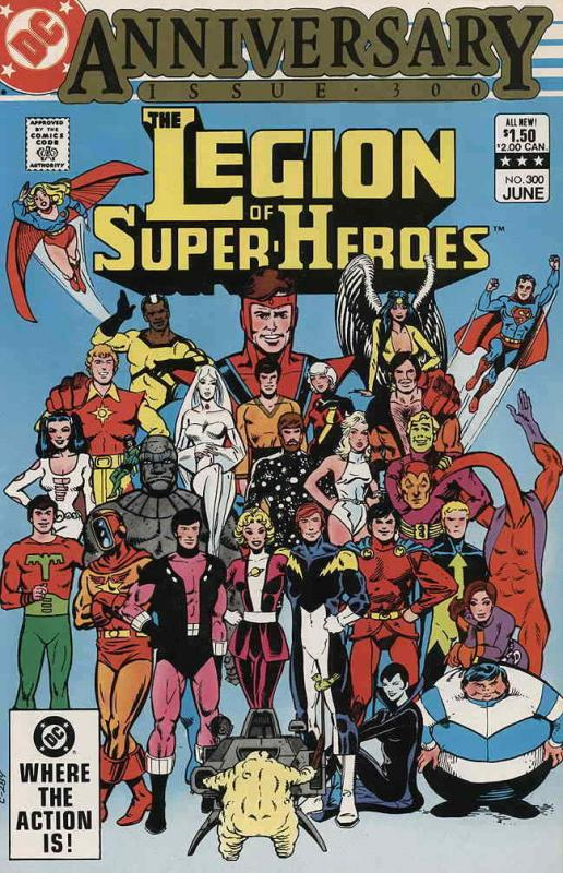 Legion of Super-Heroes, The (2nd Series) #300 VF/NM; DC | save on shipping - det