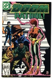 DOOM PATROL #4 1987 1st Lodestone in costume DC NM-