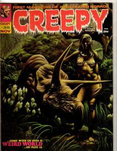 Creepy # 36 VF Warren Magazine Horror Fear Scary Monsters Suspense Dracula NE1