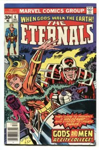THE ETERNALS #6 1st app Hogan Dr Holden Jack Kirby Marvel 1976
