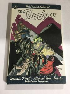 The Shadow, The Private Files Of Nm Near Mint DC Comics SC TPB