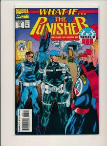 MARVEL What If... THE PUNISHER became Agent of Shield #57 F/VF (PF668)