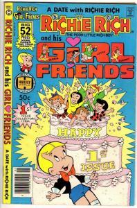 RICHIE RICH & HIS GIRLFRIENDS 1 VG-F April 1979