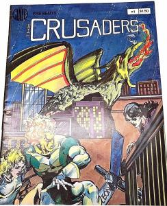 CRUSADERS#1 FN/VF 1982 SOUTHERN KNIGHTS GUILD BRONZE AGE MAGAZINE
