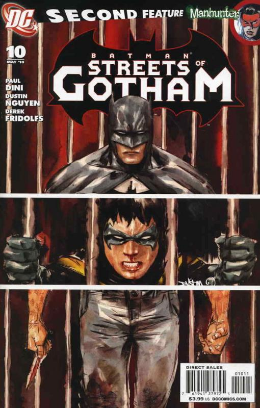 Batman: Streets of Gotham #10 VF; DC | save on shipping - details inside