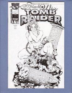 Top Cow Classics Black & White Tomb Raider #1 VF/NM Top Cow 2000