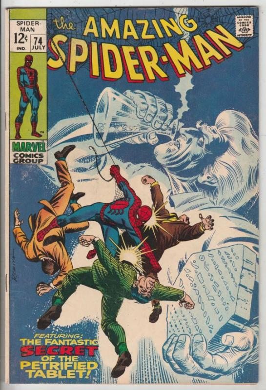 Amazing Spider-Man #74 (Jul-69) VF/NM High-Grade Spider-Man
