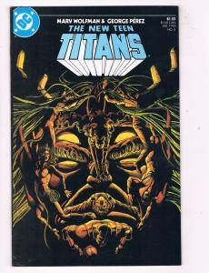 New Teen Titans (1984 2nd Series) #5DC Comic Book Trigon Raven Nighwing HH3