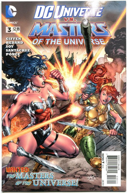 DC UNIVERSE vs MASTERS of the UNIVERSE #3, VF/NM, Giffen, He-man, Sword, 2013