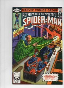 Peter Parker SPECTACULAR SPIDER-MAN #45 VF, Vulture 1976 1980 more in store