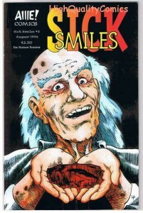 SICK SMILES #3, NM+, AIIIE Comics, Indy, Horror, 1994, more indies in store
